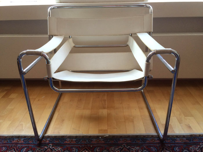 wassily chair brown leather best office for long hours reddit marcel breuer in white replica catawiki