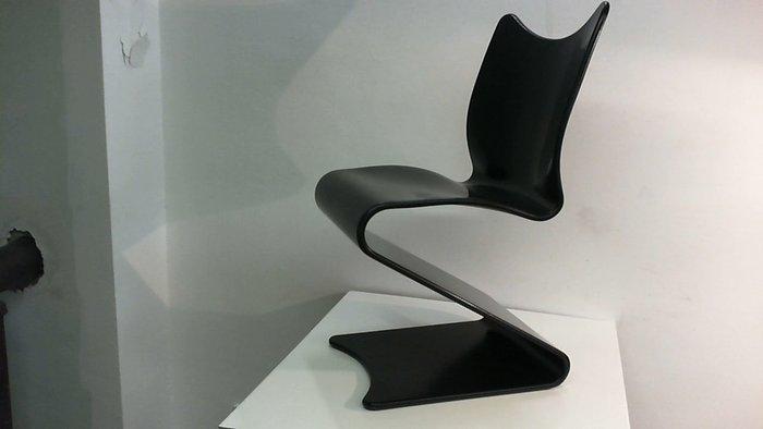 panton s chair folding cart verner for a sommer thonet model 275 cantilever