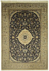 Nice Persian carpet Nain, hand-knotted oriental carpet ...