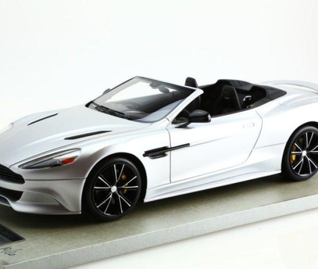 Tecnomodel Scale   Aston Martin Vanquish Volante Silver Matt