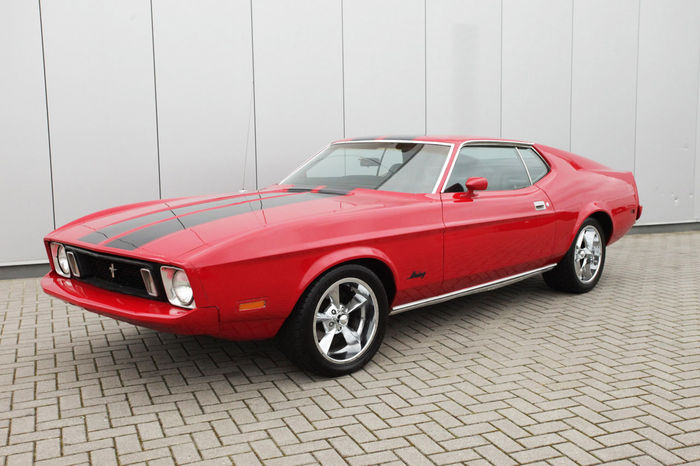 Available in all 30 popular webbing colors. Ford Mustang Fastback Deluxe 1973 Catawiki