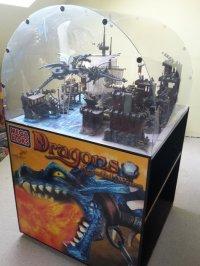 Mega Bloks - Promotional Display - Dragons Krystal Wars ...