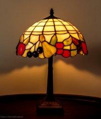 Tiffany fruit lamp