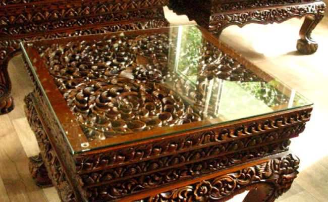 Thai Furniture Set Thailand Mid Second Half Of 20th