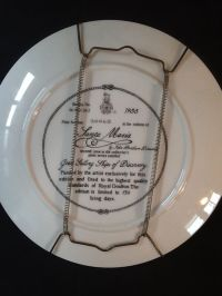 Royal Doulton decorative plates, sailing ships - porcelain ...