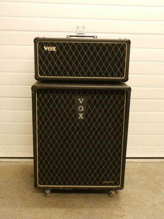 VOX AC50 Amp en Bass Cabinet Foundation ca 1965  Catawiki