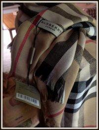 Burberry Prorsum - omslag sjaal - shawl - pashmina - Catawiki