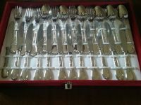 Silver-plated cutlery set - Catawiki