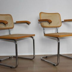 Marcel Breuer Cesca Chair With Armrests Cover Rentals Vancouver 2x Replica Catawiki