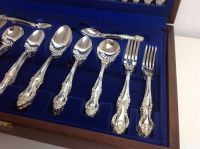 Wiltshire - 8-person 58-piece silver-plated cutlery set in ...