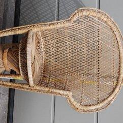 Rattan Peacock Chair World Market Wicker Cushions Unknown Designer Mid Size Catawiki