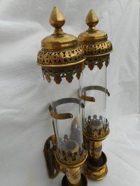 Train lamps/lanterns, Antique candle train lamps/lanterns ...