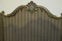 Solid copper fireplace screen - Catawiki