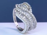 1.11 Ct diamond ring - Size: 55 - No reserveprice. - Catawiki