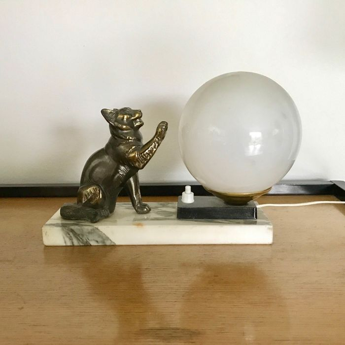 petite lampe de chevet art deco catawiki