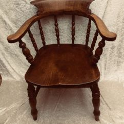 Captains Chair White Wood Counter Height Chairs An Oak And Elm Captain S Or Desk England Late 19th Century