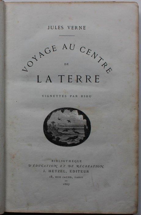 Voyage Au Centre De La Terre Jules Verne : voyage, centre, terre, jules, verne, Jules, Verne, Voyage, Centre, Terre, Catawiki