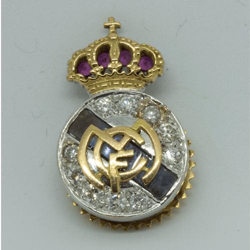 Insignia Oro Real Madrid Catawiki