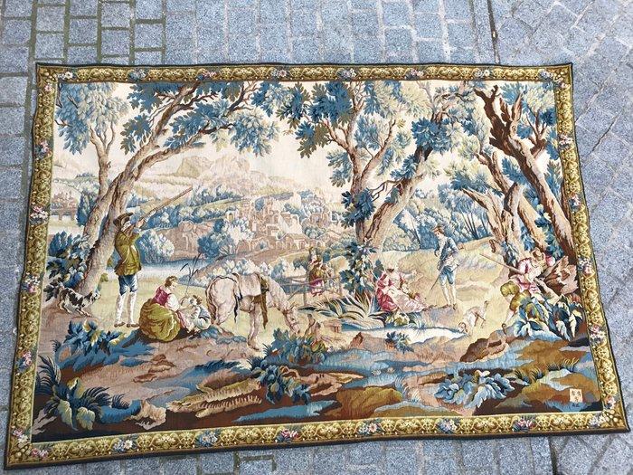 tapisserie jacquard style aubusson
