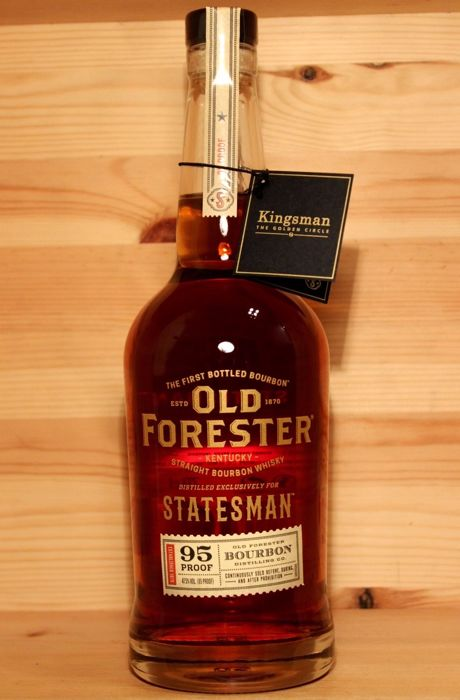 Old Forester Kentucky Straight Bourbon Whisky. distilled exclusively for Statesman. 95 Proof. 700ml - Catawiki
