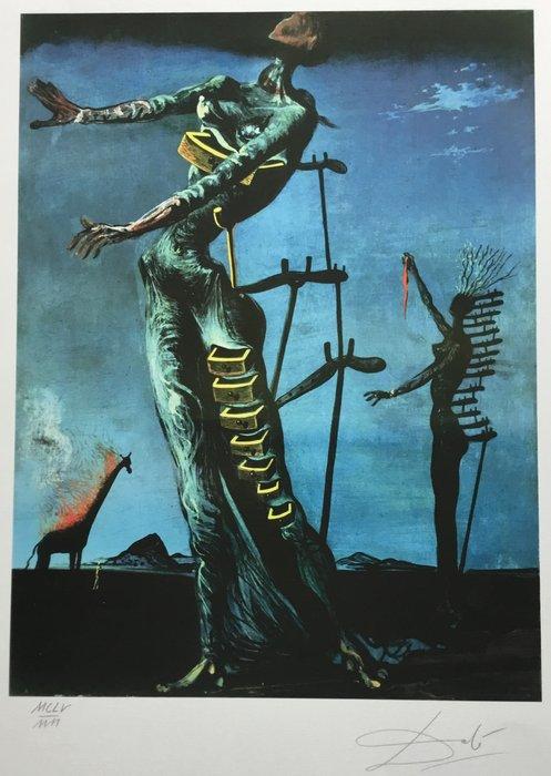 Girafe en feu - Salvador Dali ️ - Fr Dali Salvador