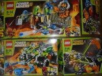 Power Miners - 8191 - 8190 - 8959 - 8958 - Lavatraz + Claw ...