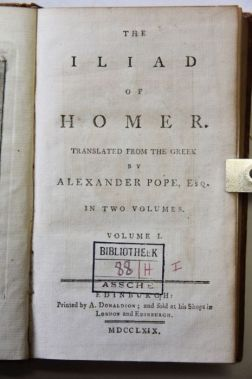 Image result for alexander pope greek