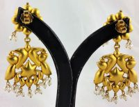 Vintage North Indian earrings - 22 kt gold - Catawiki
