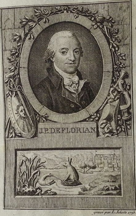 Jean-pierre Claris De Florian : jean-pierre, claris, florian, Jean-Pierre, Claris, Florian, Fables, Catawiki