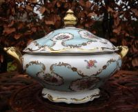 Limoges porcelain soup bowl - Catawiki