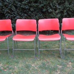 David Rowland Metal Chair Gym Ball For Sale Steel Stacking 40 4 X Catawiki