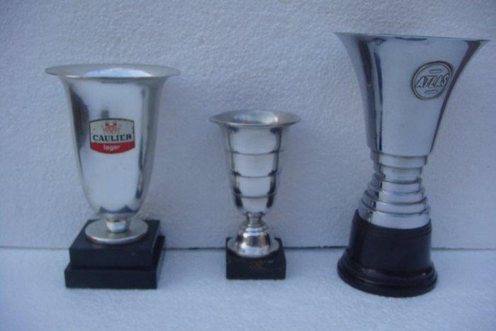3 art deco trophy