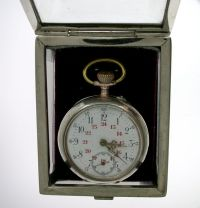 Pocket watch with holder box 1870 - Catawiki