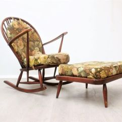 Vintage Arm Chair Cute Office Chairs Lucian Ercolani For Ercol Furniture Armchair Ottoman