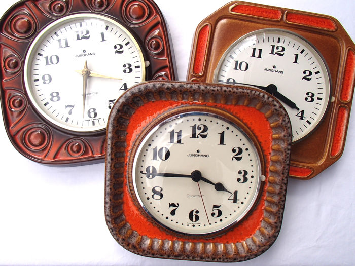 kitchen clocks custom made cabinets 3 junghans period 1970 catawiki