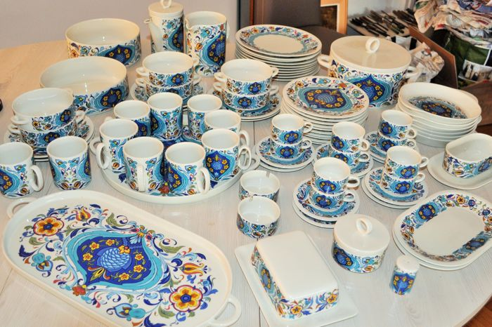 Villeroy Und Boch Service Lot Of 81 Piece Villeroy And Boch Izmir Service 1973 ...