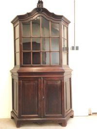 Oak Dutch china cabinet