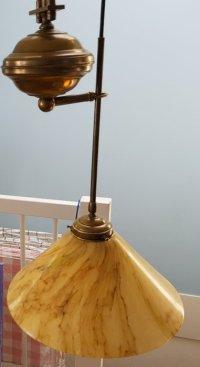 Art Nouveau hanging lamp, 2nd half 20th century - Catawiki