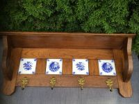 Antique wooden coat rack for kitchen accessories with four ...