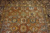 Antique handwoven Persian collector's carpet, Ziegler