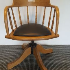 Office Chair You Sit Backwards Real Electric Execution Oak Ca 1910 Catawiki