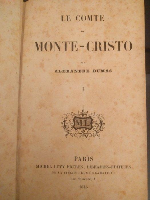 Le Conte De Monte Cristo : conte, monte, cristo, Alexandre, Dumas, Comte, Monte-Cristo, Volumes, Catawiki