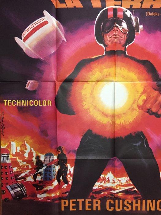 Les Daleks Envahissent La Terre : daleks, envahissent, terre, Daleks, Envahissent, Terre', Original, French, Poster, Catawiki