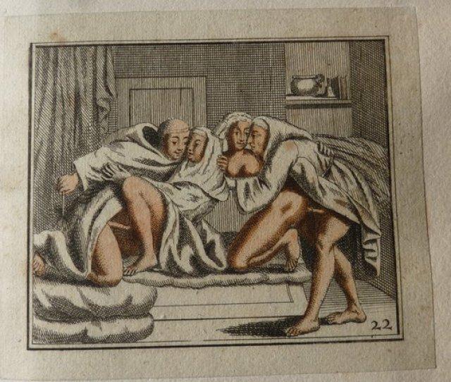 Album With Erotic Prints No Date 19th Century