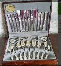 Silver plated cutlery set - Catawiki