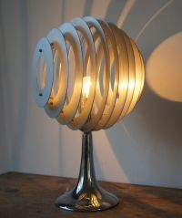 Table lamp in high-tech design, 1970/80s - Catawiki