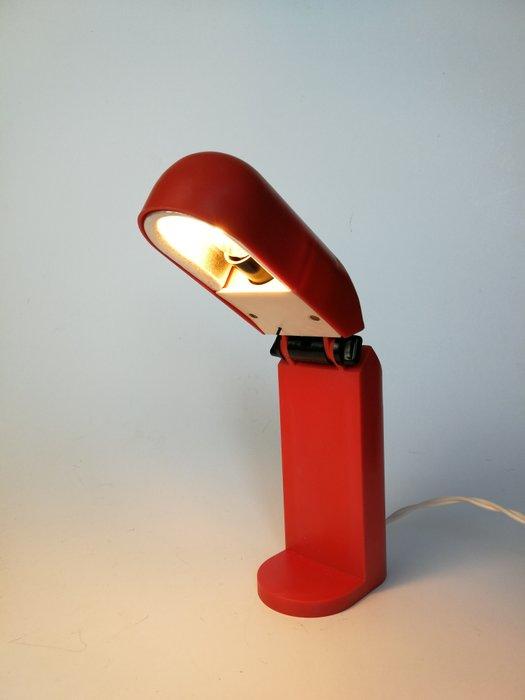 Vintage red desk lamp  Catawiki