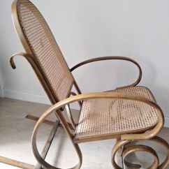 Wood Rocking Chair Styles Design Portfolio Turning Wooden In One Piece Thonet Style Art Deco 19th