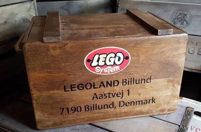 rangement vintage lego toys