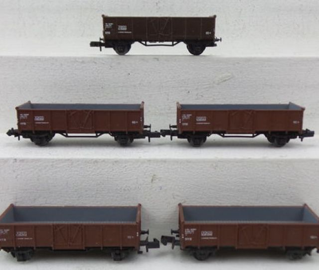 Piko N Freight Carriage 5x Hogebak Freight Cars Sbb Cff